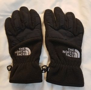 The North Face kids winter gloves